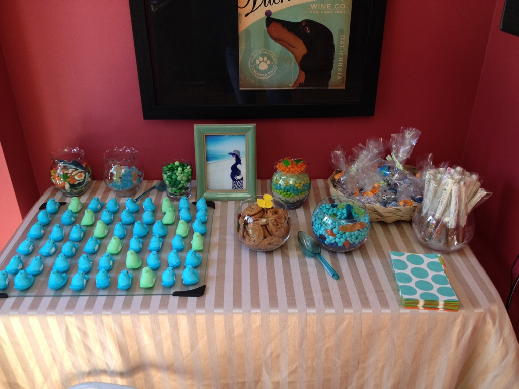 an under the sea themed baby shower running4two